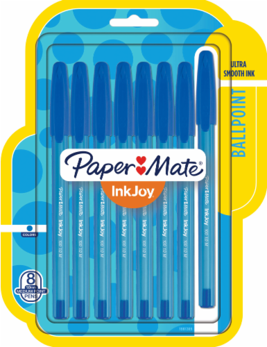 Paper Mate® InkJoy® Medium Ballpoint Pens - Blue Perspective: front