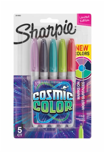 Sharpie® Fine Point Cosmic Colors Pens - Assorted Perspective: front
