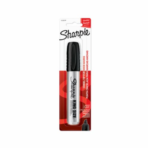 Sharpie Pro King Size Marker - Black Perspective: front