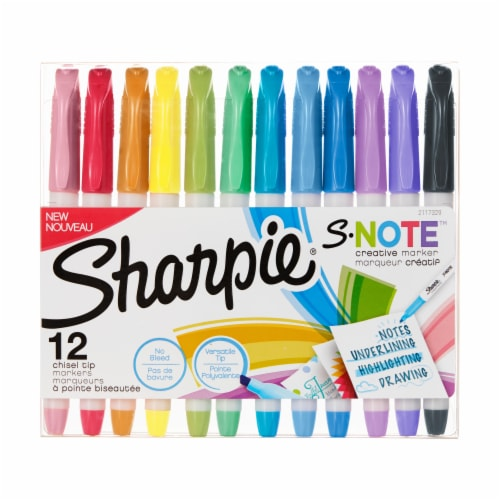 Sharpie S-Note Creative Markers - Assorted Perspective: front