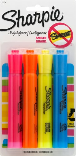 Sharpie Smear Guard Highlighters - Assorted Perspective: front