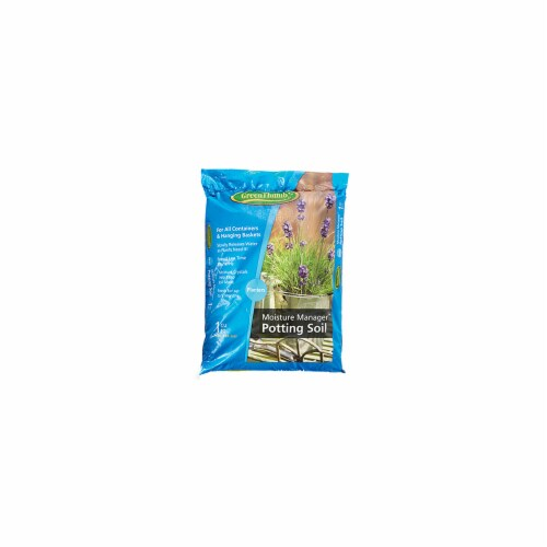 Scotts Growing Media 143550 Green Thumb CUFT Moisture Mix Perspective: front