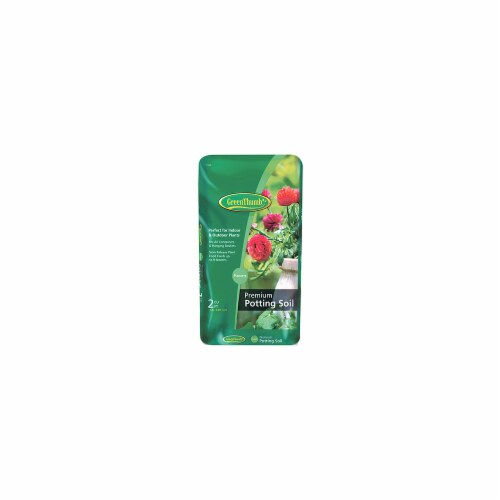 Scotts Growing Media 155929 Green Thumb Two CUFT Potting Mix Perspective: front