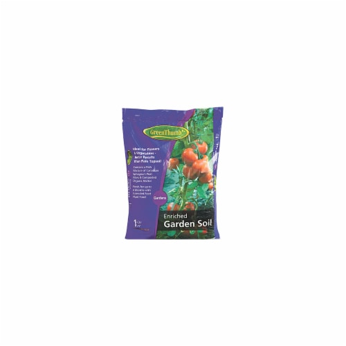 Scotts Growing Media 145443 Green Thumb Enriched Garden Soil Perspective: front