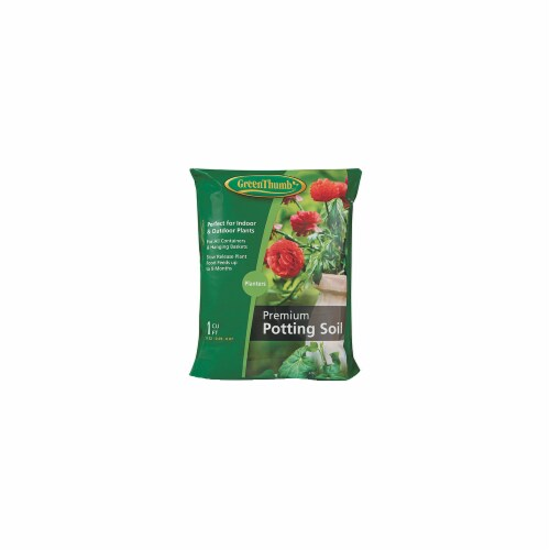 Scotts Growing Media 143551 Green Thumb CUFT Potting Mix Perspective: front