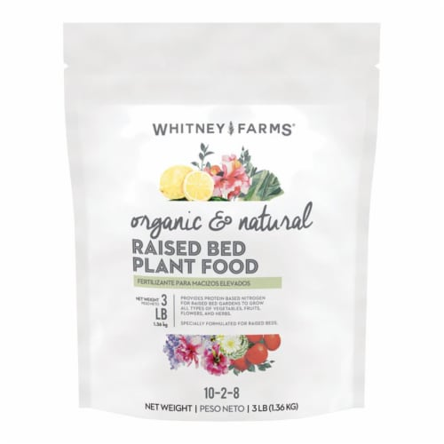 Whitney Farms Organic and Natural Granules Plant Food 3 lb. - Case Of: 1; Perspective: front