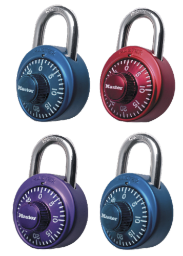 Master Lock Anti Shim Combination Lock - Assorted Perspective: front