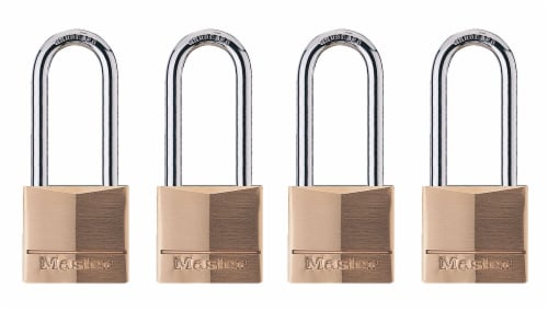 Master Brass Lock Perspective: front