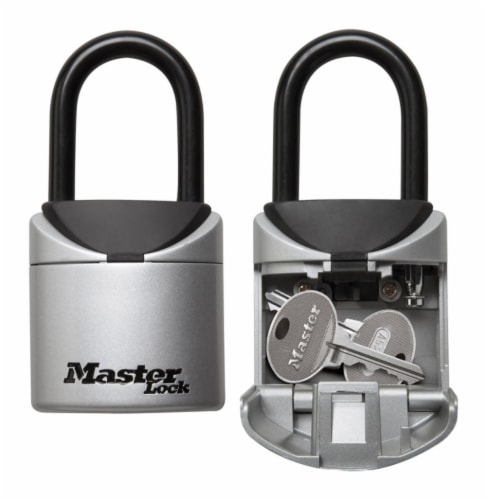 Master Lock 2.75 in. W Vinyl Covered Steel 3-Digit Combination Lock Box 1 pk - Case Of: 1; Perspective: front