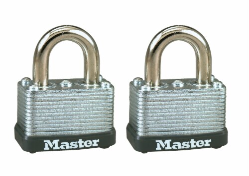Master Lock Warded Padlock Perspective: front