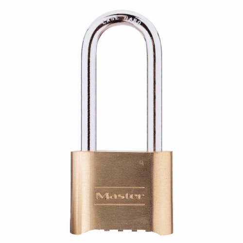 Master Lock 2 In Resettable Combination Padlock W/ 2 In Shackle Perspective: front