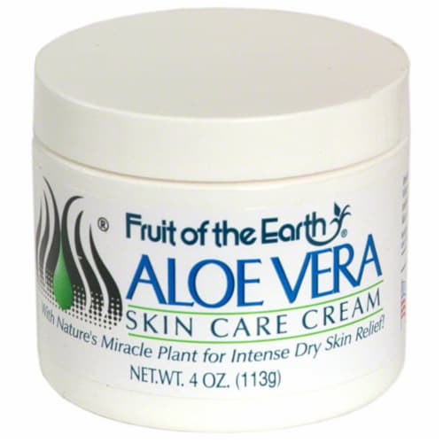 Fruit of the Earth Aloe Vera Skin Cream Perspective: front