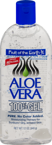 Fruit of the Earth Aloe Vera 100% Gel Perspective: front