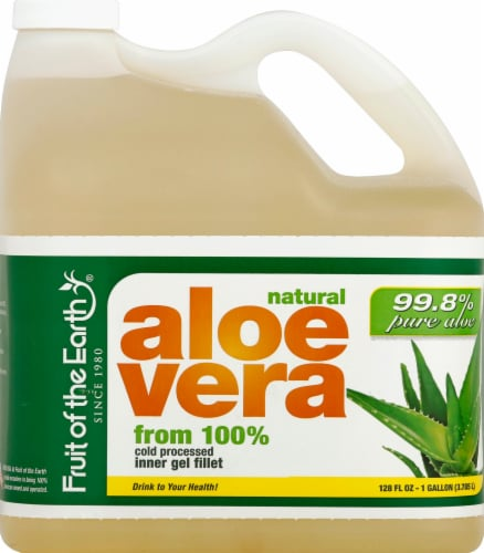 Fruit of the Earth Aloe Vera Juice Perspective: front