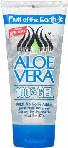 Fruit Of The Earth Aloe Vera Gel Perspective: front