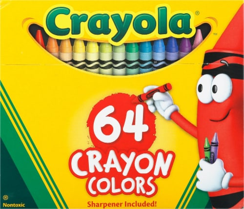Crayola Crayons Perspective: front