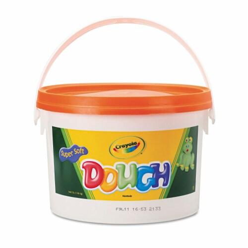 Crayola Llc Formerly Binney & Smith Bin1536 Modeling Dough 3Lb Bucket Orange Perspective: front