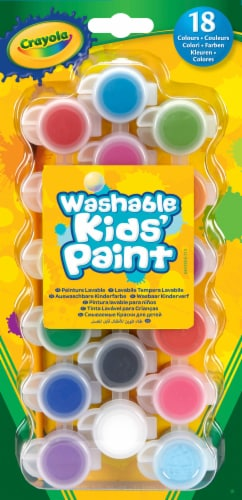 Crayola Washable Kids' Paint Set Perspective: front