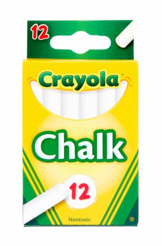 Crayola Chalk - White Perspective: front