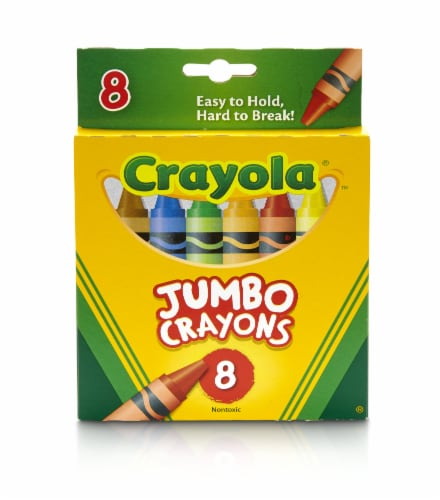 Crayola So Big Jumbo Crayons - 8 Count Perspective: front