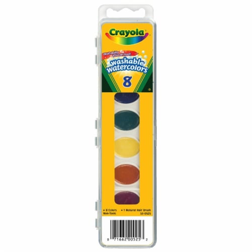 Crayola® Washable Watercolors Set Perspective: front