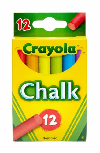 Crayola Colored Chalk Perspective: front