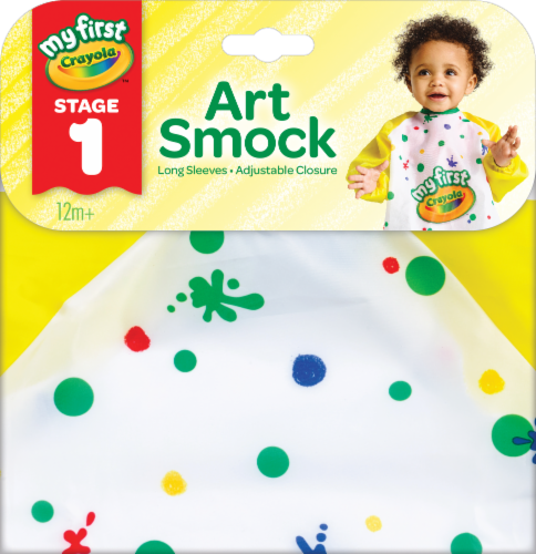 My First Crayola Art Smock Perspective: front