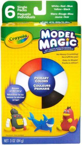 Crayola Model Magic .5oz 6/Pkg-Primary Perspective: front