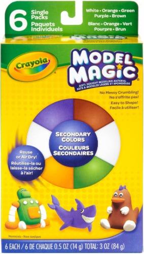 Crayola Model Magic .5oz 6/Pkg-Secondary Perspective: front