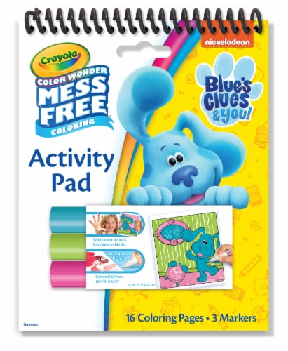 Crayola Color Wonder Blues Clues & You Activity Pad Perspective: front