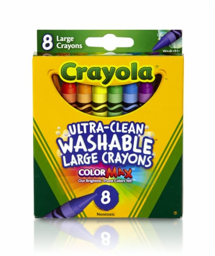 Crayola Ultra-Clean Large Washable Crayons Perspective: front