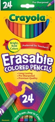 Crayola Erasable Colored Pencils Perspective: front