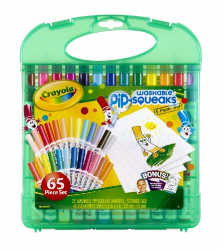 Crayola Pip-Squeaks Washable Markers and Paper Set Perspective: front
