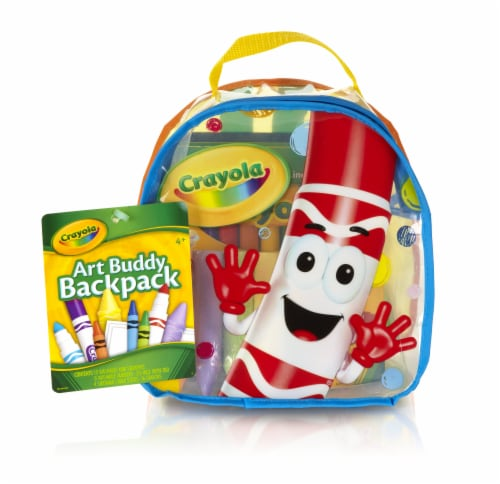 Crayola Art Buddy Backpack Perspective: front