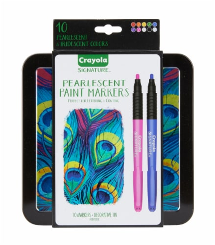 Crayola Signature Pearlescent Paint Markers Perspective: front