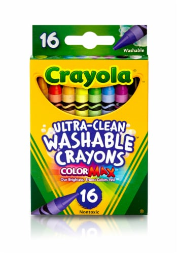 Crayola Ultra-Clean Color Max Washable Crayons Perspective: front