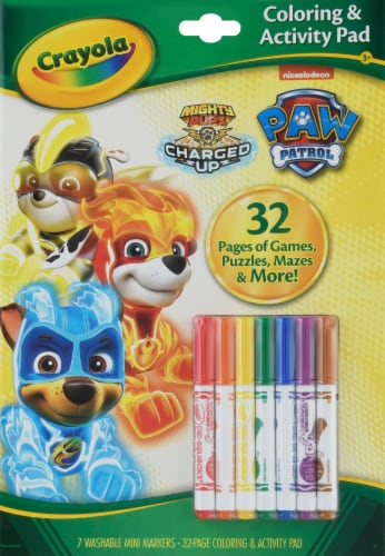 Crayola Paw Patrol Coloring & Activity Pad Perspective: front