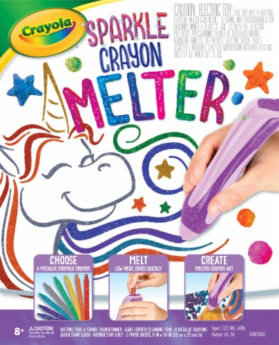 Crayola Sparkle Crayon Melter Perspective: front
