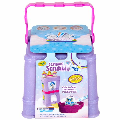 Crayola Scribbie Scrubble Peculiar Pets Palace Activity Toy Perspective: front
