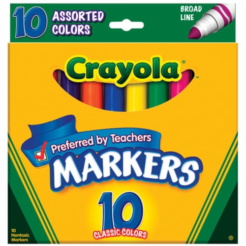 Crayola Markers Perspective: front