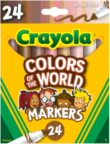 Crayola Markers - Colors of the World Perspective: front