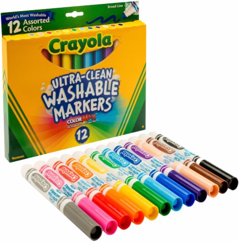 Crayola Ultra Clean Washable Markers Perspective: front