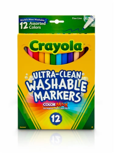 Crayola® Ultra Clean Washable Markers Perspective: front