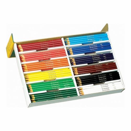 Crayola Classpack Colored Pencils Perspective: front
