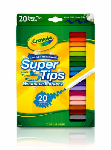 Crayola Super Tips Washable Markers Perspective: front