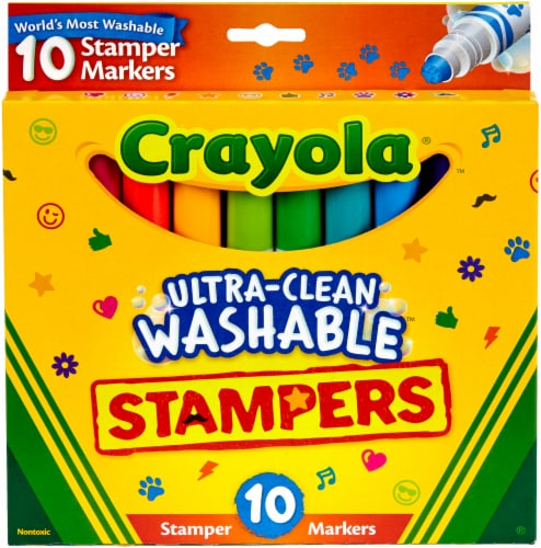 Crayola Mini Stampers Markers Perspective: front