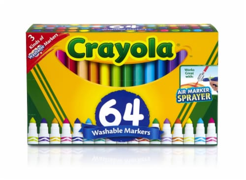 Crayola Broadline Washable Markers Perspective: front