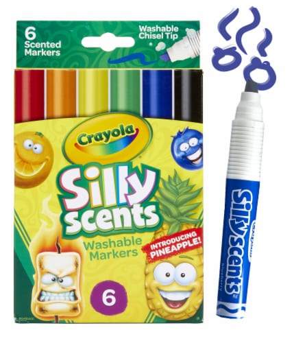 Crayola Silly Scents Chisel Tip Scented Markers Perspective: front
