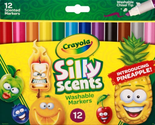 Crayola® Silly Scents™ Chisel Tip Markers Perspective: front