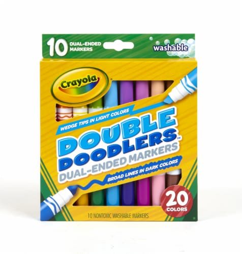 Crayola® Double Doodler Dual Ended Washable Markers Perspective: front